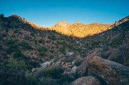 Arizona Mountain at Sunset